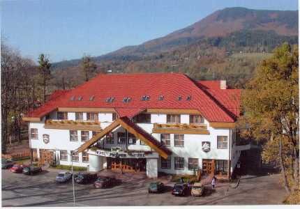 Hotel Prosper - restaurace, Čeladná