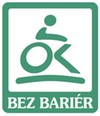 The Barrier-Free trademark logo was registered with the Industrial Property Office in 2006 by KAZUIST, spol. s r.o., Třinec.